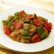 からみちょを使った ピリ辛季節の野菜炒め