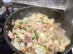 焼き肉のたれ中辛 野菜炒めのソースとしてご利用くださったお客様から頂いた写真